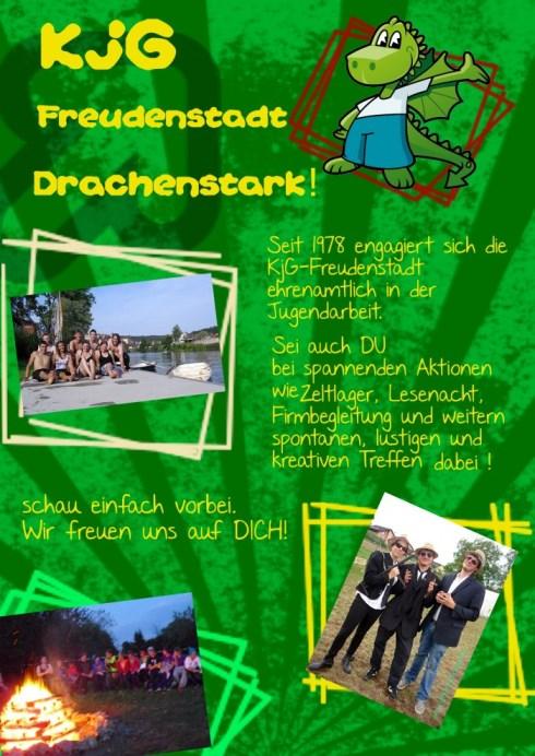 Der Flyer der KjG Freudenstadt