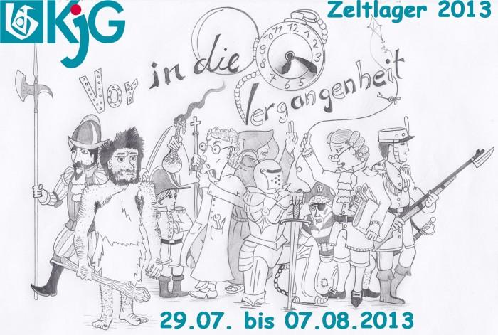 Zeltlager 2013 der KjG vom 29.07. bis 07.08.2013
