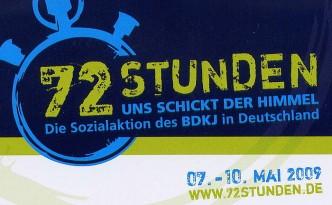 Das Symbol der 72 Stunden-Aktion 2009