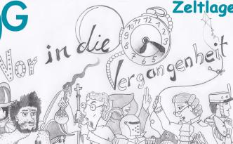 """""""Vor in die Vergangenheit"""" das Motto des Zeltlager 2013"""
