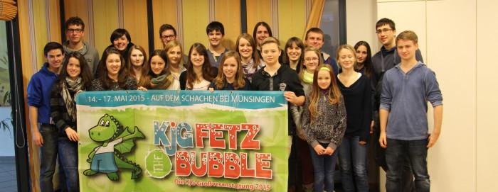 Gruppenbild der Vollversammlung 2014 der KjG Freudenstadt