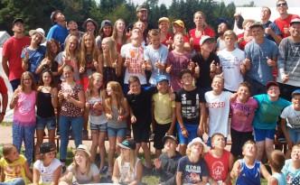 Zeltlager 2015 Gruppenbild