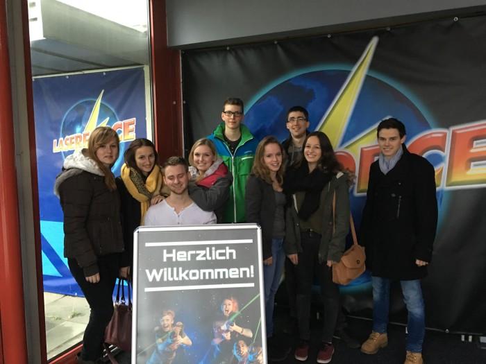 Team KjG-FDS beim Lasertag